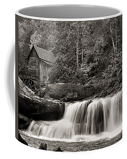 Glade Creek Grist Mill Monochrome Coffee Mug