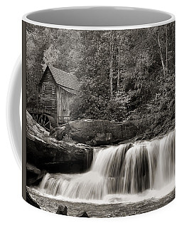 Glade Creek Grist Mill Monochrome Coffee Mug