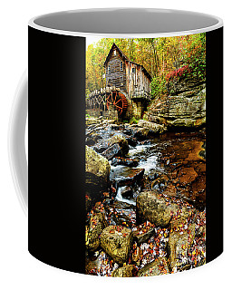 Coffee Mug featuring the photograph Glade Creek Grist Mill Fall  by Thomas R Fletcher