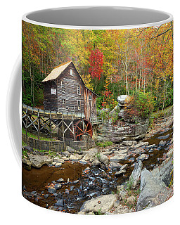 Glade Creek Grist Mill In Autumn Coffee Mug