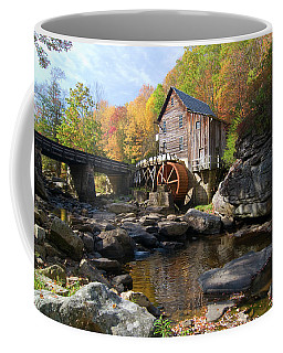 Coffee Mug featuring the photograph Glade Creek Grist Mill by Steve Stuller