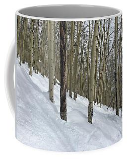Gladed Run Coffee Mug by Christin Brodie