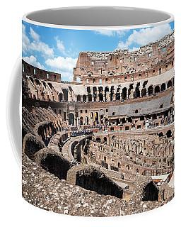 Gladiators And Christians Coffee Mug
