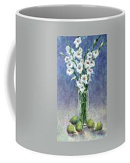 Gladiolas And Pears Coffee Mug