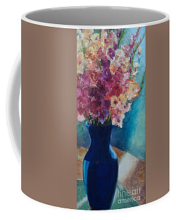Gladioli-blue Coffee Mug