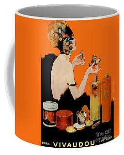 Glamour Vintage Art Deco Cosmetics Coffee Mug
