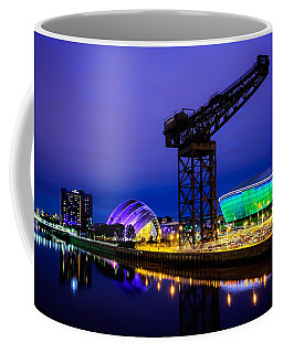 Glasgow At Night Coffee Mug