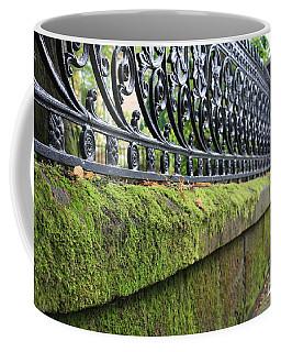 Glasgow Moss Fencing Coffee Mug by Mary-Lee Sanders
