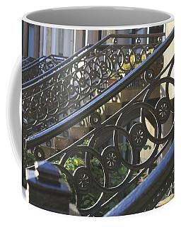 Glasgow Railings Coffee Mug by Mary-Lee Sanders