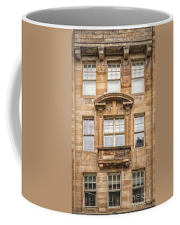 Glasgow Tenement Facade Coffee Mug