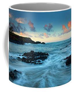 Glass Beach Dawn Coffee Mug by Mike  Dawson