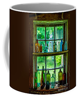 Glass Bottles Coffee Mug