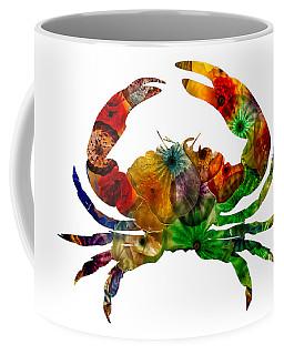 Glass Crab Coffee Mug