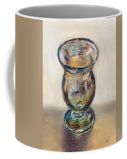 Glass Goblet Coffee Mug