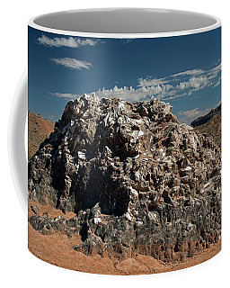 Glass Mountain Capital Reef National Park Coffee Mug by Cindy Murphy - NightVisions