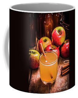 Glass Of Fresh Apple Cider Coffee Mug