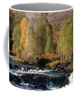 Coffee Mug featuring the photograph Glen Affric In Autumn by Karen Van Der Zijden