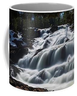 Glen Alpine Waterfall By Brad Scott Coffee Mug