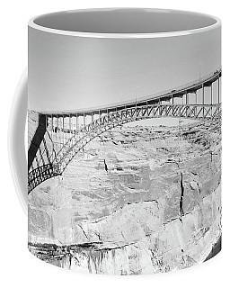 Glen Canyon Bridge Bw Coffee Mug