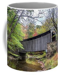 Glen Hope Covered Brige During Autumn Coffee Mug
