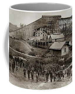 Glen Lyon Pa Susquehanna Coal Co Breaker Late 1800s Coffee Mug