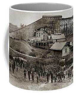 Glen Lyon Pa Susquehanna Coal Co Breaker Late 1800s Coffee Mug