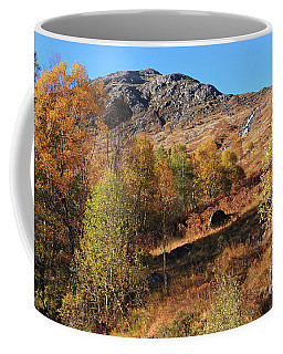 Coffee Mug featuring the photograph Glen Nevis Autumn by Phil Banks