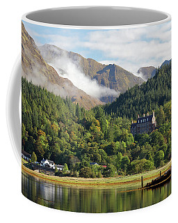 Coffee Mug featuring the photograph Glencoe House Landscape by Grant Glendinning
