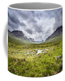Coffee Mug featuring the photograph Glencoe by Jeremy Lavender Photography