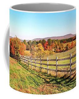Glendale Road View In The Fall Coffee Mug