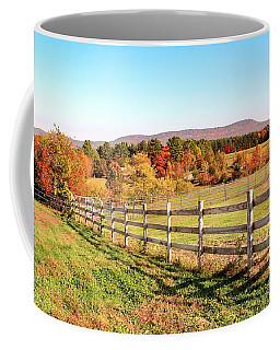 Glendale Road View In The Fall Coffee Mug