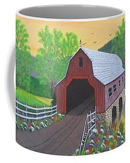 Glenda's Covered Bridge Coffee Mug
