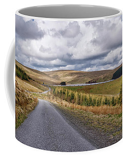 Coffee Mug featuring the photograph Glensherup Reservoir by Jeremy Lavender Photography