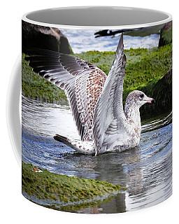 Glide Coffee Mug by Elaine Manley