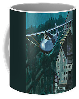 Glider Escape From Colditz Castle Coffee Mug