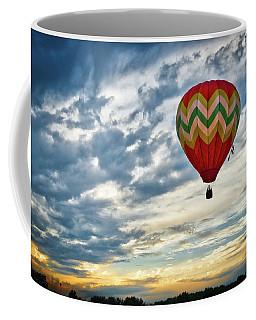 Gliding Through Sunset Coffee Mug
