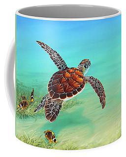 Gliding Through The Sea Coffee Mug