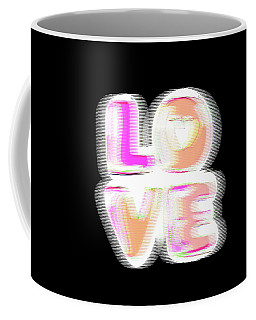 Glitch In Black Coffee Mug
