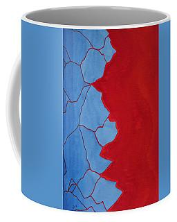 Glitch In The Matrix Original Painting Coffee Mug