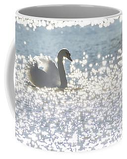 Glitz And Glamory Swan Coffee Mug