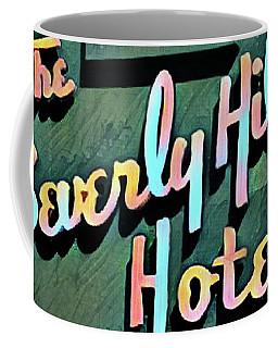 Glitzy Beverly Hills Hotel Coffee Mug