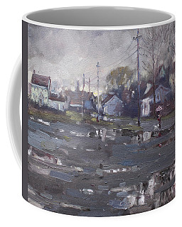 Gloomy And Rainy Day By Hyde Park Coffee Mug