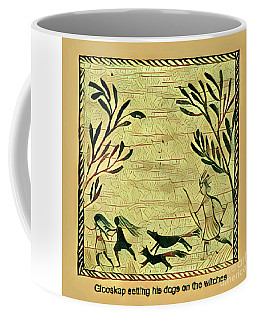 Coffee Mug featuring the digital art Glooscap And The Witches by Art MacKay