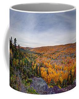 Glorious Autumn Lutsen Mountain Resort North Shore Minnesota Coffee Mug