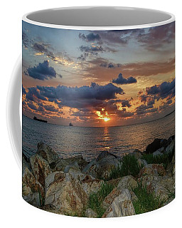 Coffee Mug featuring the photograph Glorious New Day by Diana Mary Sharpton