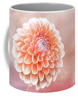 Glorious Salmon Dahlia Coffee Mug