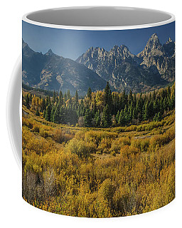 Glorious Teton Fall Coffee Mug by Yeates Photography