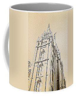 Coffee Mug featuring the drawing Glory And Majesty by Greg Collins