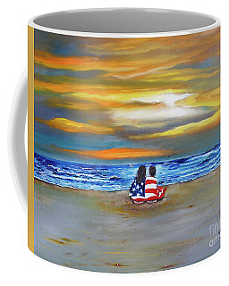 Coffee Mug featuring the painting Glory by Barbara Hayes