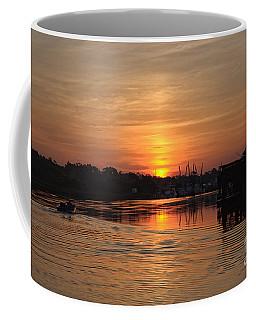 Glory Of The Morning On The Water Coffee Mug